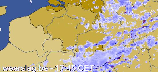 weerbericht België